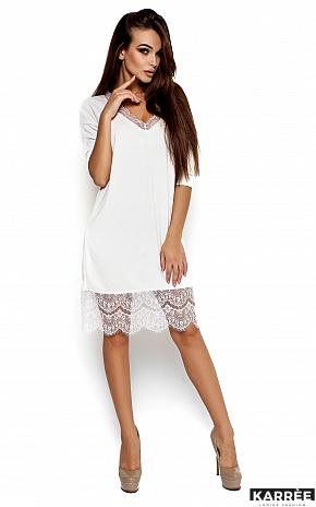 Платье Ницца, Белый - фото 2