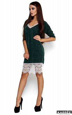 Платье Ницца, Темно-зеленый
