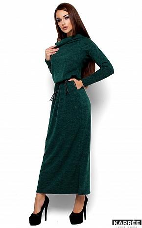 Платье Амбиция, Темно-зеленый - фото 2