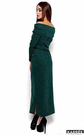Платье Амбиция, Темно-зеленый - фото 3
