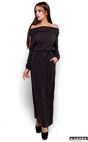 Платье Амбиция, Темно-серый - фото 1