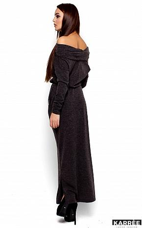 Платье Амбиция, Темно-серый - фото 3