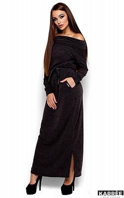 Платье Амбиция, Темно-серый