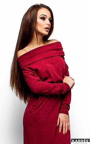 Платье Амбиция, Бордо - фото 2
