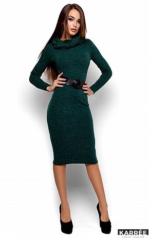 Платье Лантене, Темно-зеленый - фото 2