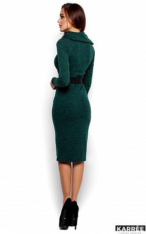 Платье Лантене, Темно-зеленый - фото 3