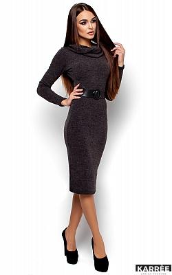 Платье Лантене, Темно-серый