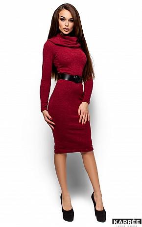 Платье Лантене, Бордо - фото 1
