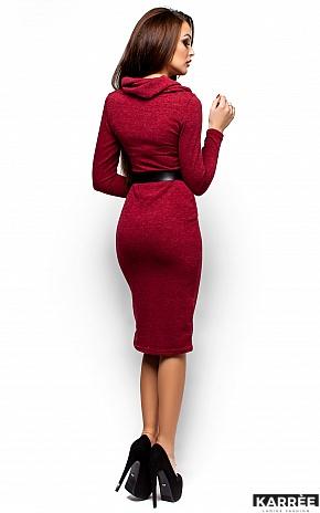 Платье Лантене, Бордо - фото 3