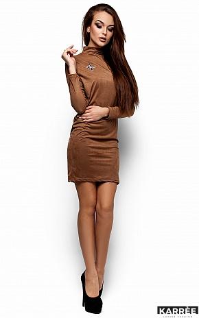 Платье Сплит, Темно-бежевый - фото 1