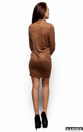 Платье Сплит, Темно-бежевый - фото 3