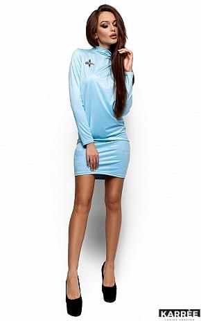 Платье Сплит, Голубой - фото 1