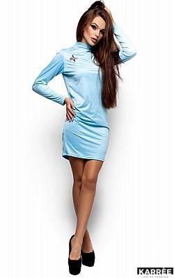 Платье Сплит, Голубой