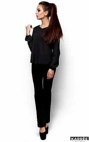 Блуза Барбарис, Черный - фото 2