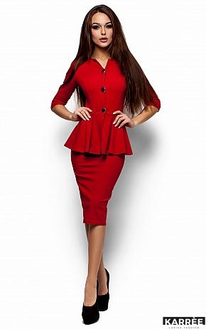 Платье Фиби, Красный - фото 1