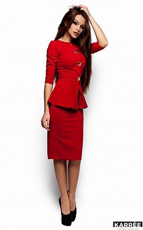 Платье Фиби, Красный - фото 2