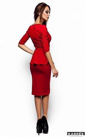 Платье Фиби, Красный - фото 3