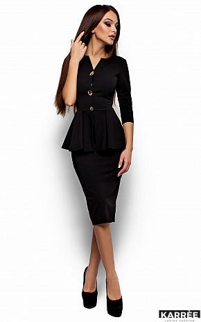 Платье Фиби, Черный - фото 1