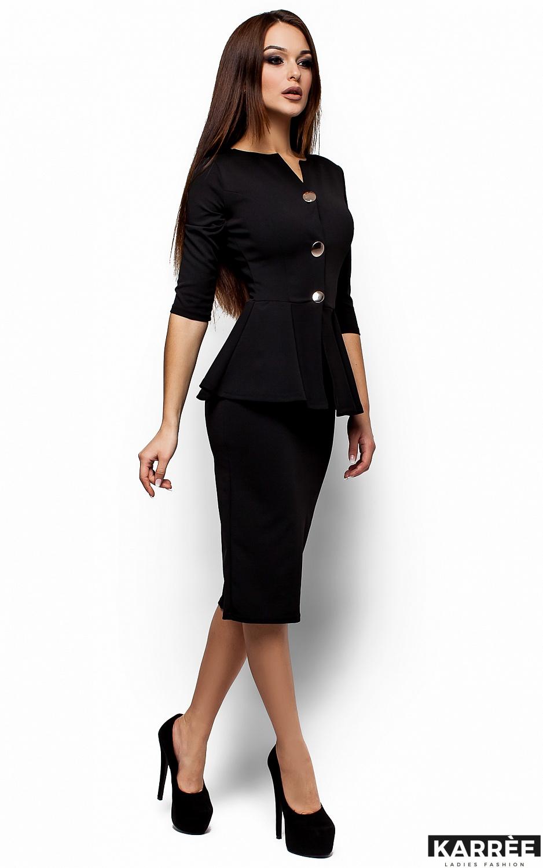 Платье Фиби, Черный - фото 2