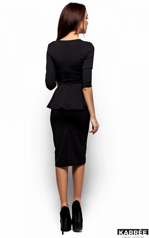 Платье Фиби, Черный - фото 3