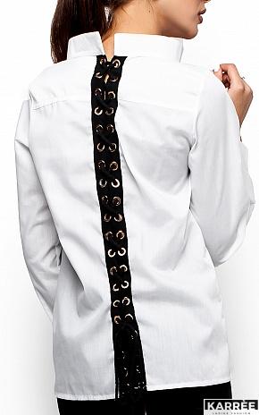 Рубашка Шарлотт, Белый - фото 4