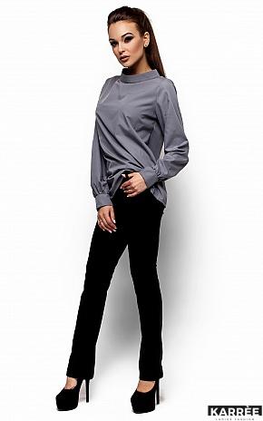 Рубашка Шарлотт, Серый - фото 5