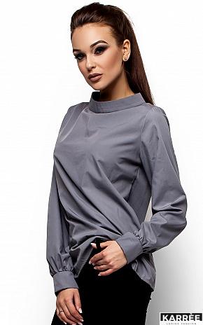 Рубашка Шарлотт, Серый - фото 2