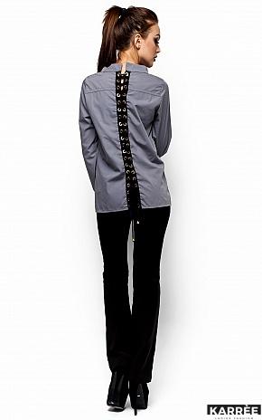 Рубашка Шарлотт, Серый - фото 3