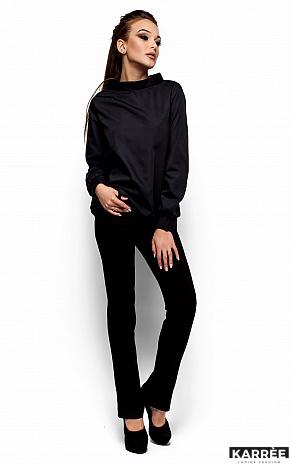 Рубашка Шарлотт, Черный - фото 5