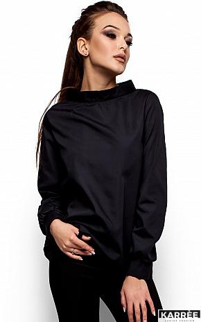 Рубашка Шарлотт, Черный - фото 2