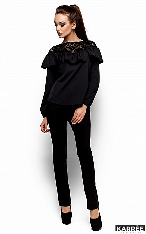 Блуза Аргентина, Черный - фото 5