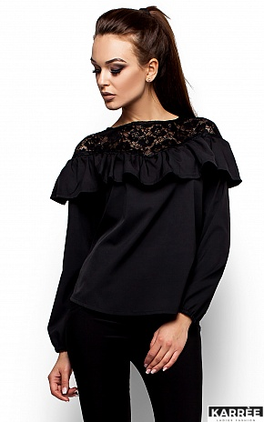 Блуза Аргентина, Черный - фото 2