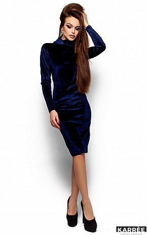 Платье Орнелла, Синий - фото 1