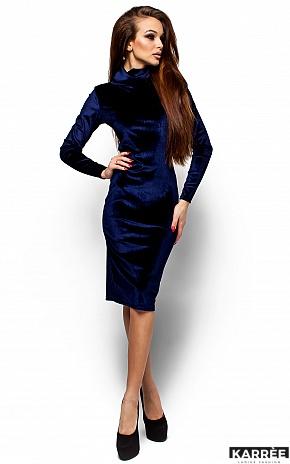 Платье Орнелла, Синий - фото 4