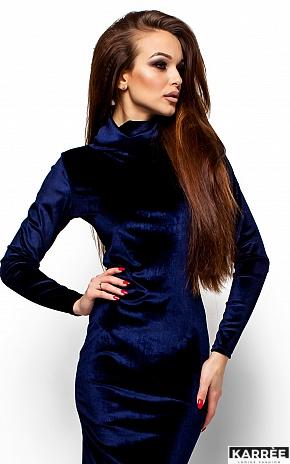 Платье Орнелла, Синий - фото 2