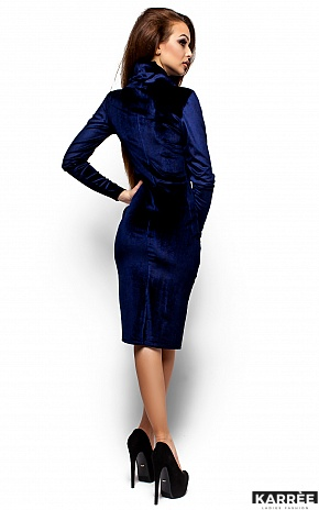 Платье Орнелла, Синий - фото 3