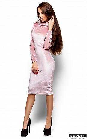 Платье Орнелла, Пудра - фото 4
