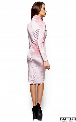 Платье Орнелла, Пудра - фото 3