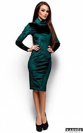 Платье Орнелла, Зеленый - фото 1