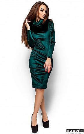 Платье Орнелла, Зеленый - фото 4
