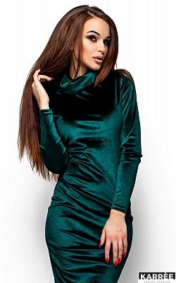 Платье Орнелла, Зеленый
