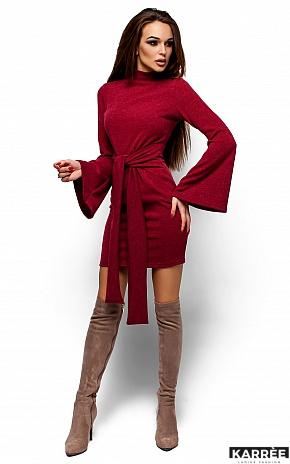 Платье Диор, Бордо - фото 4