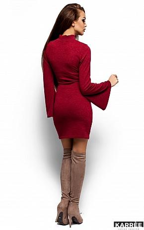 Платье Диор, Бордо - фото 3