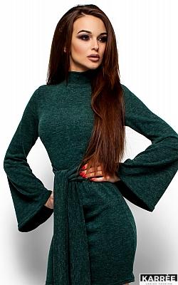 Платье Диор, Темно-зеленый