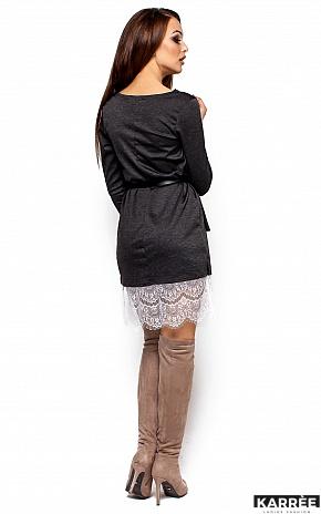 Платье Вегас, Темно-серый - фото 3