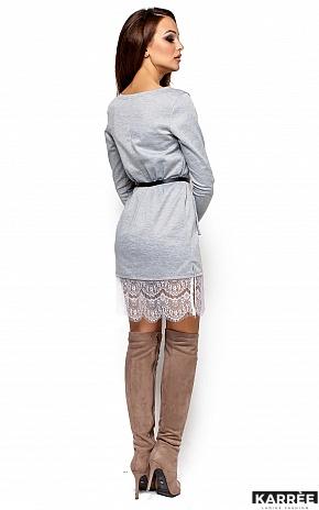 Платье Вегас, Серый - фото 3