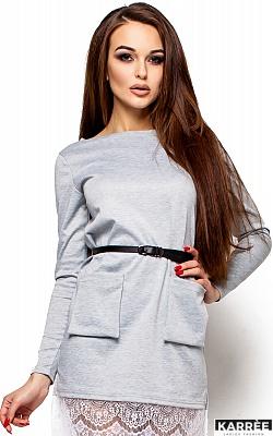 Платье Вегас, Серый