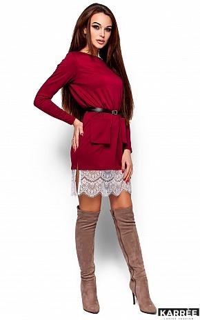 Платье Вегас, Марсала - фото 1