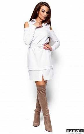 Платье Ребека, Белый - фото 1