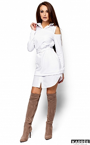 Платье Ребека, Белый - фото 4